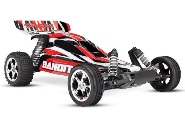Traxxas Bandit XL-5 Electro Buggy RTR - Rood