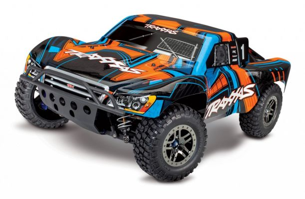 Traxxas Slash 4x4 Ultimate TQi Brushless Short Course RTR - Oranje