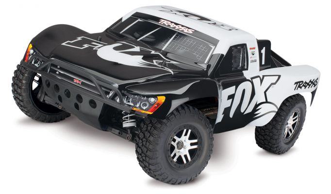 Traxxas Slash 4x4 VXL Brushless Short Course RTR - Fox