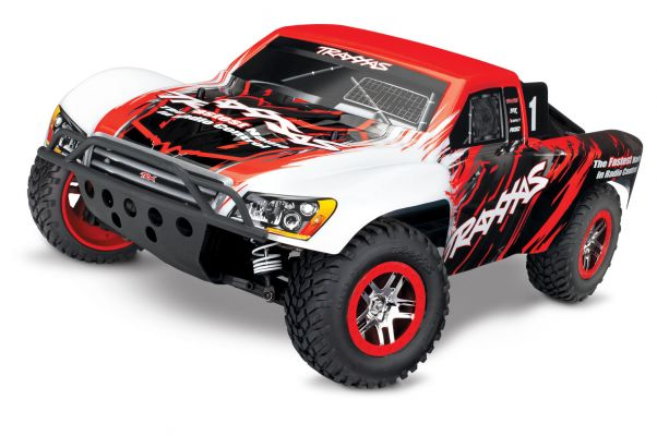 Traxxas Slash 4x4 VXL Brushless Short Course RTR - Rood