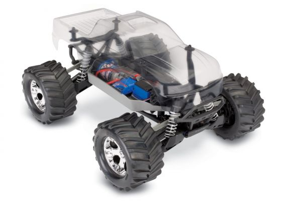 Traxxas Stampede 4X4 Assembly Kit: 4WD Chassis With TQ 2.4GHz Radio System