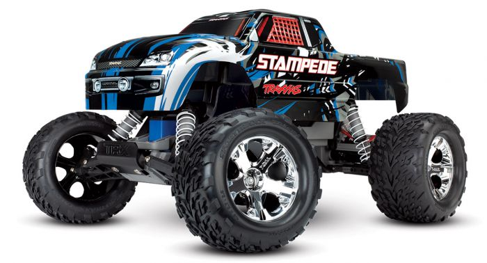 Traxxas Stampede XL-5 Electro Monster Truck RTR - Blauw
