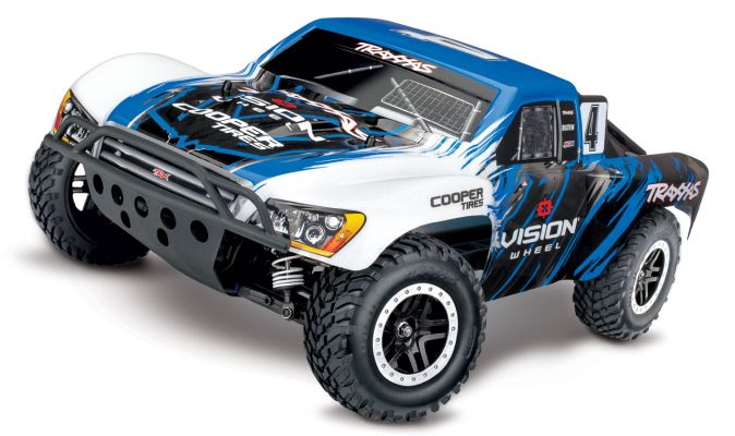 Traxxas Slash 4x4 VXL Brushless Short Course RTR - Vision