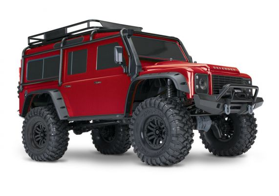 Traxxas TRX-4 Land Rover Defender - Rood