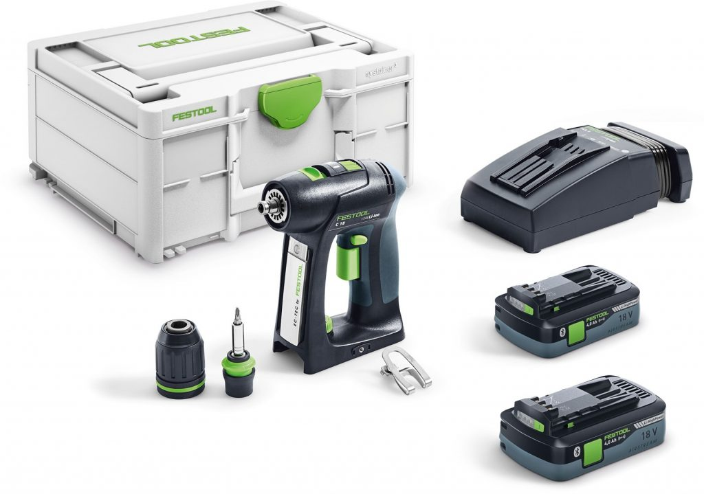 FESTOOL C 18 HPC 4,0 I-PLUS ACCUSCHROEFBOORMACHINE | 18V 4.0AH LI-ION - 576435