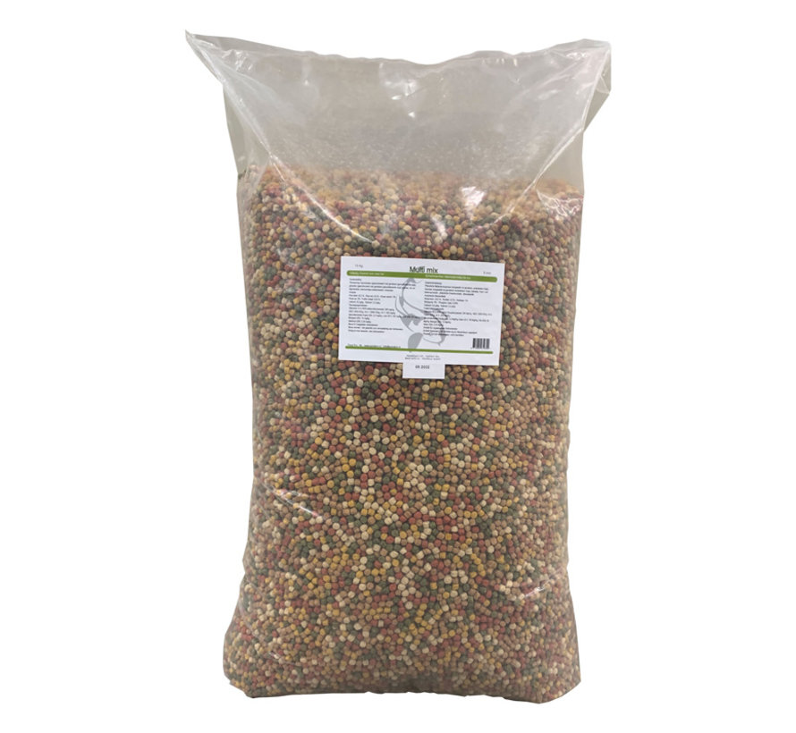 Pond Pro Multi Kwartet Mix 6 Mm - 15 Kg