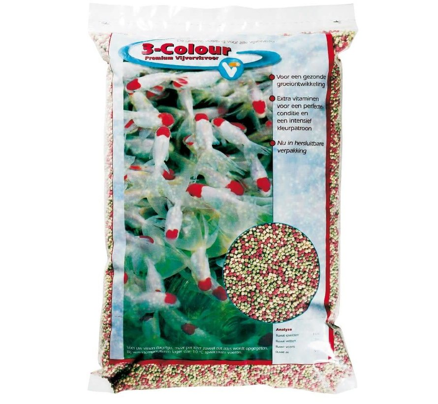 Velda 3 colour pellets premium 15 liter