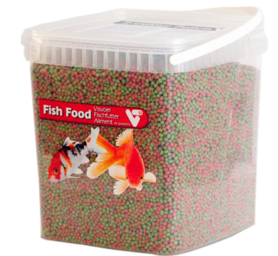 Velda Fish Food 2-Colour Pellet 3 mm - 5 Liter